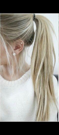 Cartilage piercing♥