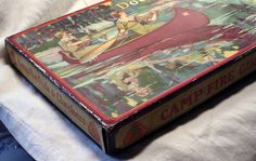 RARE 1926 Camp Fire Girls Parker Brothers Board Game | eBay