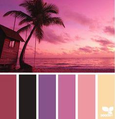 Coastal and Beach Decor Color Palette