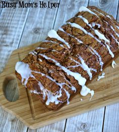 Swirly Cinnamon Banana Bread