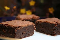 chocolate espresso brownies