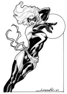 Ms. Marvel by Aaron Lopresti