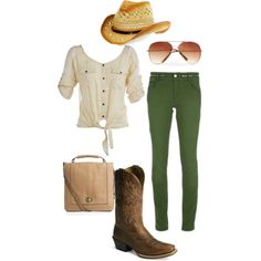 She's Gone Country, created by saratoeppler on Polyvore