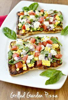Get Grilling! Summer Garden Pizza