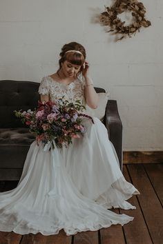Elegant lace wedding