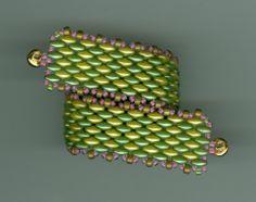 RAW Superduo Bracelet by Marcie Lynne