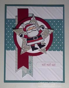 House to Santa - SSSC231 Get Your Santa On (En mode Père Noël) by Karine Cartier, Stampin Up! Montreal, Qc www.creationshabsgirl22.com