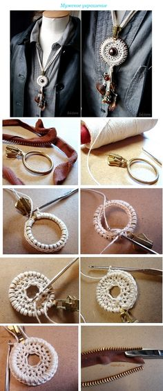 #Crochet #wrapping #ring