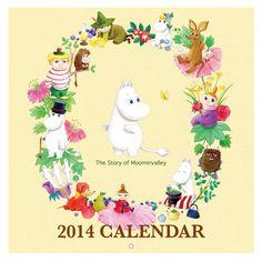 moomin 2014 calendar