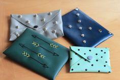 DIY: envelope bags