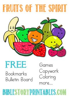 Fruits of the Spirit Printables