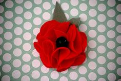 Leather or felt flowers bow tutorial, flower pins, templat, gift ideas, gifts, flower tutorial, flower gift, felt flowers, fabric flower