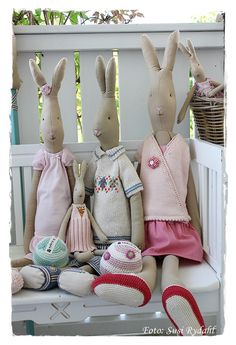 Easter Bunnies from Maileg