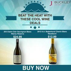 Beat the Heat Wine Deals