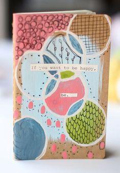 DIY Embellished Moleskine Journal Tutorial