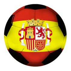 #Spain #Soccer Ball Photo Cutout by gravityx9