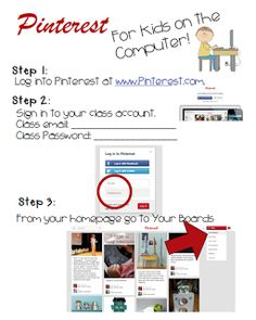 """FREE LESSON - """"Pinterest in the Classroom (Freebie!)"""" - Go to The Best of Teacher Entrepreneurs for this and hundreds of free lessons.  1st - 5th Grade  #FreeLesson  #TeachersPayTeachers   #TPT    http://www.thebestofteacherentrepreneurs.net/2013/11/free-misc-lesson-pinterest-in-classroom.html"""