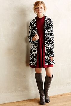 Fairisle Sweater Jacket #anthropologie #anthrofave