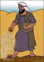 Parable of the Sower free visuals and coloring sheets