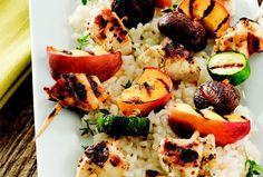 Grilled Chicken and Peach Kabobs | Recipe | Joy of Kosher with Jamie Geller