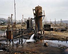 socar oil fields, baku