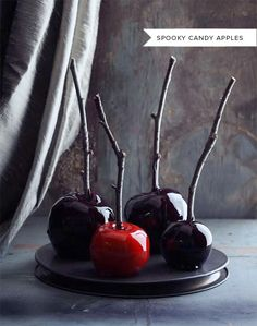 Spooky Candy Apples Recipe