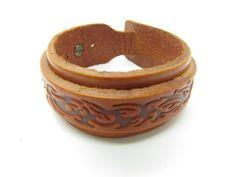 Adjustable Bracelet Leather Bracelet  Buckle by sevenvsxiao, $8.50