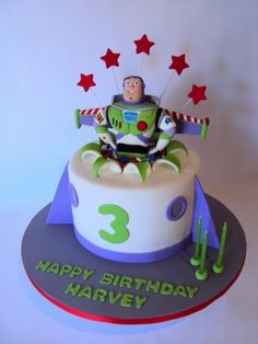 Buzz Lightyear By Yummy-MummyCakeCreations on CakeCentral.com