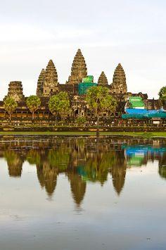 Reflections of Angkor Wat, Thailand