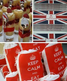 A British themed Farewell party