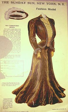 Sunday Sun Brown Dress by Pennelainer, via Flickr