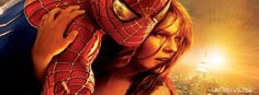 spider man saving marry jane  Kirsten Caroline Dunst cool sun newyork city spiderman profile covers facebook. fb timeline covers cool spidey spider man