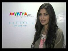 Shop at Myntra.com and get a chance to meet Diana Penty! :)