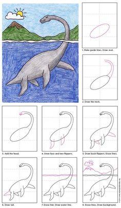 Plesiosaurus Diagram. Includes free pdf download.