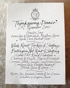 Thanksgiving table settings inspiration - WhatWouldGwynethDo