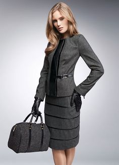 Well suited fashion ~ elegant
