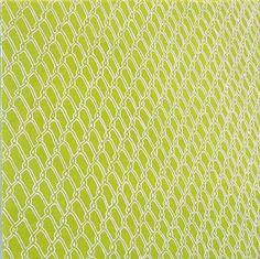Sara Eichner-'green chainlink'-Sears-Peyton Gallery
