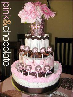 Diaper cake #diaper #cake