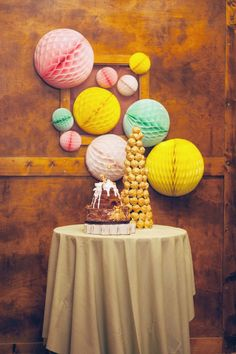 cake table idea