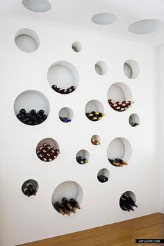 Wine storage at Loft in Bordeaux // Teresa Sapey | Afflante.com