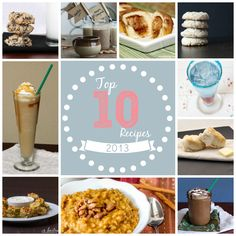 Top recipes of 2013 from aroundmyfamilytable.com