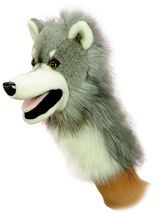 Wolfgang the Wolf Stage Puppet at theBIGzoo.com, an animal-themed superstore.