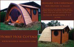 Hobbit Hole Cottage For Sale!