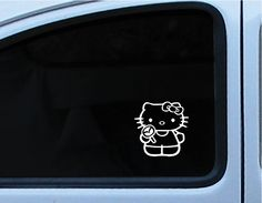hello kitty with mazda symbol