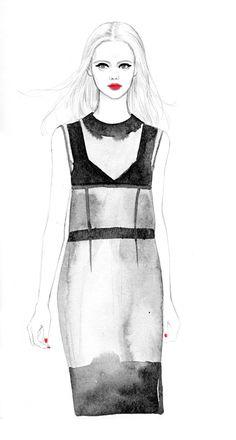 Teri Chung | fashion illustration