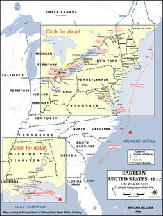 A great overview of the War of 1812 @E Lomonico