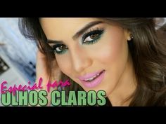 Colores verde, gris, rosa. Maquillaje de ojos para fiesta o boda de noche. Grey, green, pink. Eyes & Pink Lips Look. Evening night wedding party eye make up. Couleurs vert, rose. Maquiagem para destacar os olhos claros - YouTube. Maquillage des yeux pour marriage ou fêtede soir. Soirée. Camila Coelho www.facebook.com/bagatelleoficial Bagatelle Marta Esparza #look #videotutorial #evening
