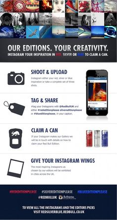 Red Bull takes Instagram to the streets to launch its new editions / We Are Social