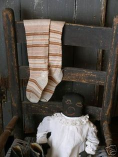 .ealy socks and early rag doll