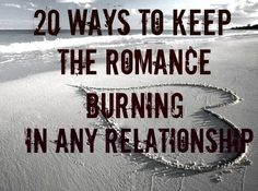 Looking for romance tips? Here are 20 just for couples. Romantic tips for him and her.